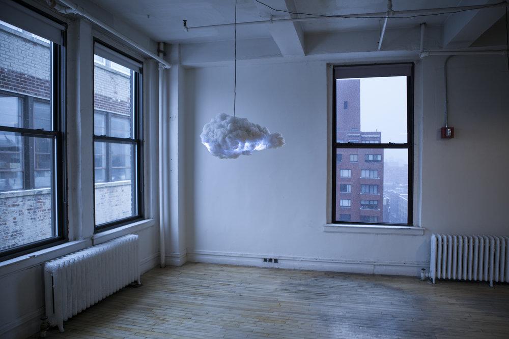 déco nuage lumière