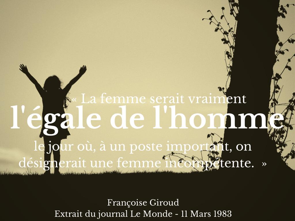Egalite hommes/femmes