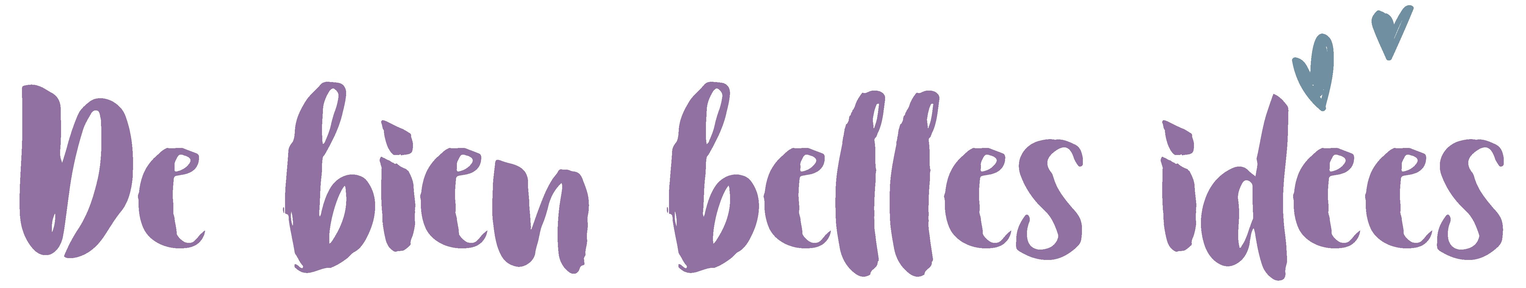 Logo de bien belles idées